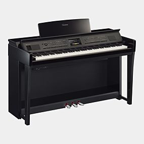 Yamaha CVP-805 Clavinova Poleret Sort Digital Piano