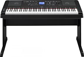 Yamaha DGX-660 Portable Grand Black Digital Piano