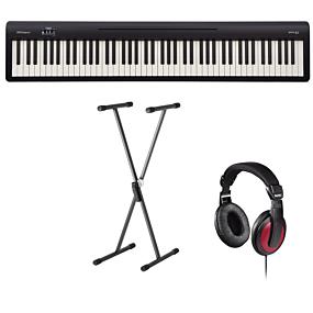 Roland FP-10 Digital Piano + Stativ (SKS 01) + Hovedtelefoner (Hama)