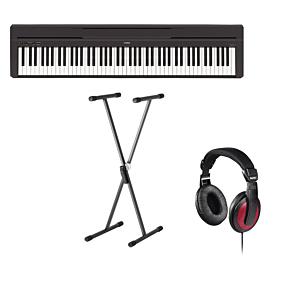 Yamaha P-45 Digital Piano (SKS-01 + HAMA)