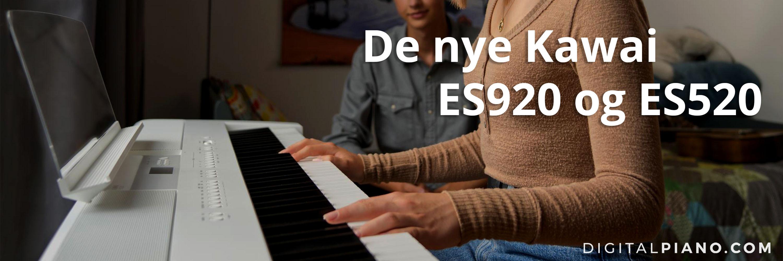 De nye Kawai ES920 og ES520