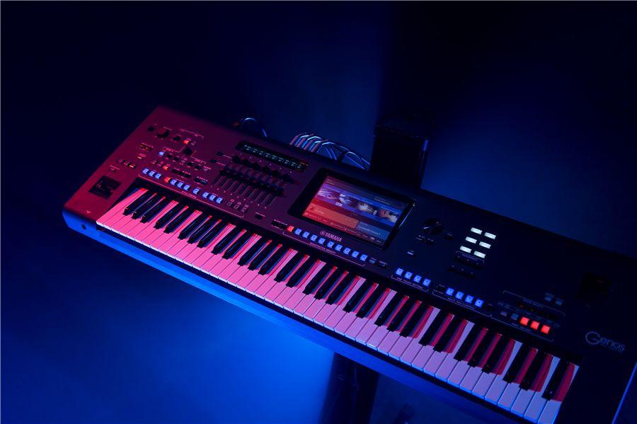 Nu er den her - Se Yamaha Genos Workstation