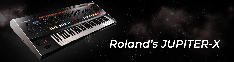 Roland's helt nye JUPITER-X
