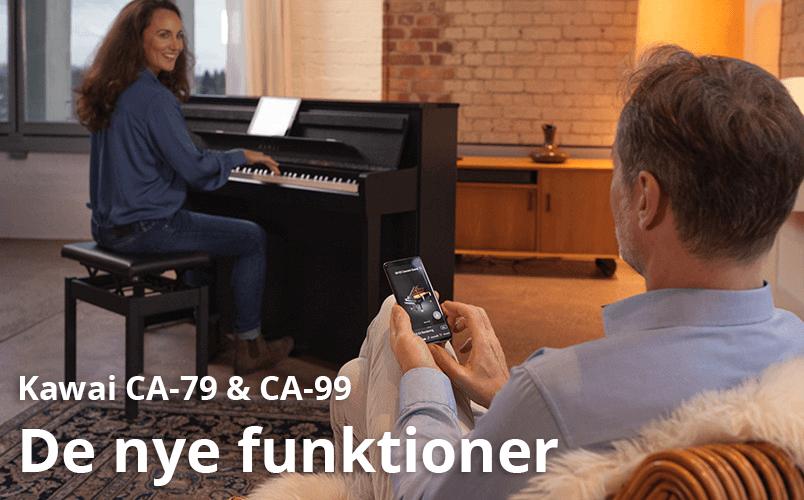 CA 79 og CA 99's nye funktioner