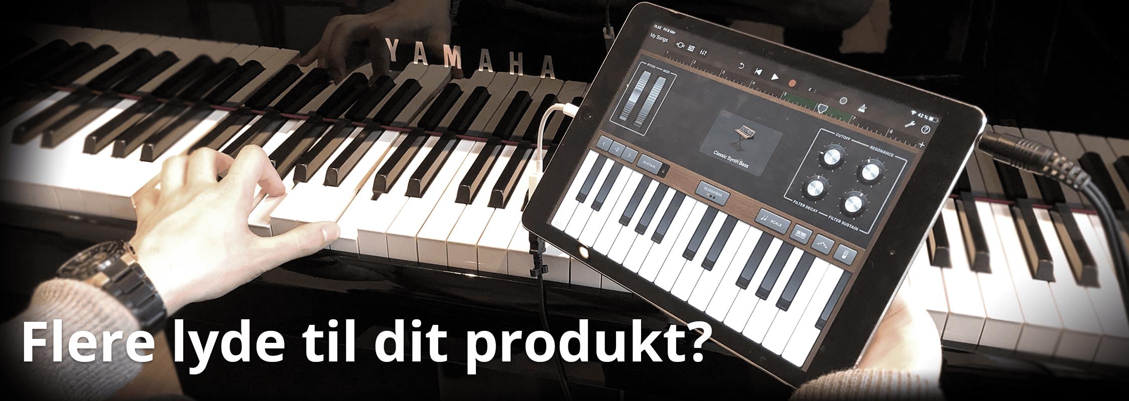 Flere lyde til mit digitale instrument?