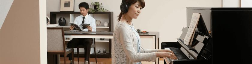 Hybrid og Silent klaverer
