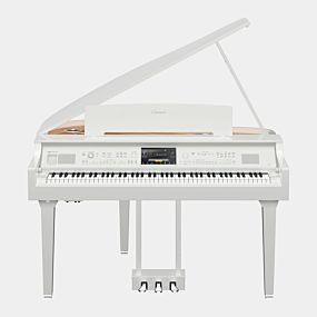 Yamaha CVP-809GP Clavinova Polert Hvit Digital Piano