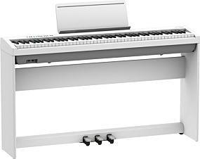 Roland FP-30X Hvit Digital Piano med Komplett Oppsett (KSC-70 + KPD-70)
