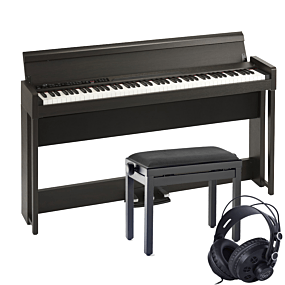 Korg C1 AIR Brun Digital Piano Pakkeløsning