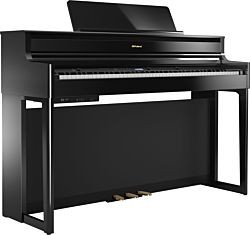 Roland HP-704 Blank Svart Digital Piano