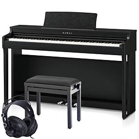 Kawai CN-29 Svart Digital Piano Paket