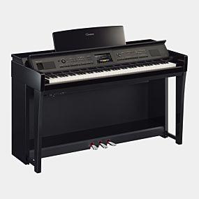 Yamaha CVP-805 Clavinova Polerad Vit Digital Piano