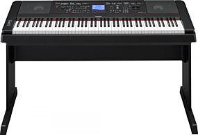 Yamaha DGX-660 Portable Grand Svart Digital Piano