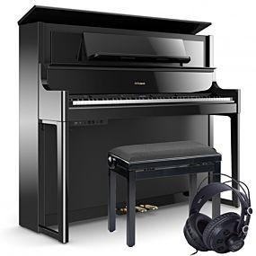 Roland LX-708 Polished Black Paket