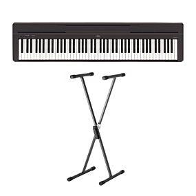 Yamaha P-45 Digital Piano med X-Stativ SKS 01