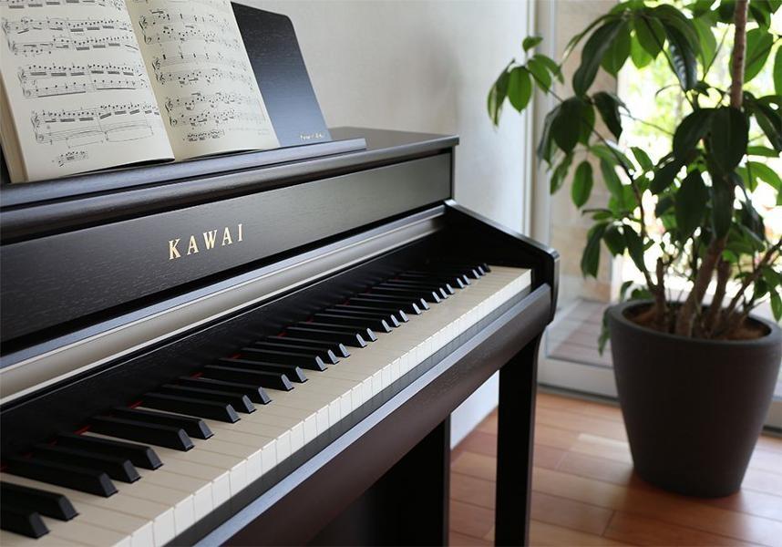 CA-78 Concert Grand-autenticitet för den ambitiösa pianisten