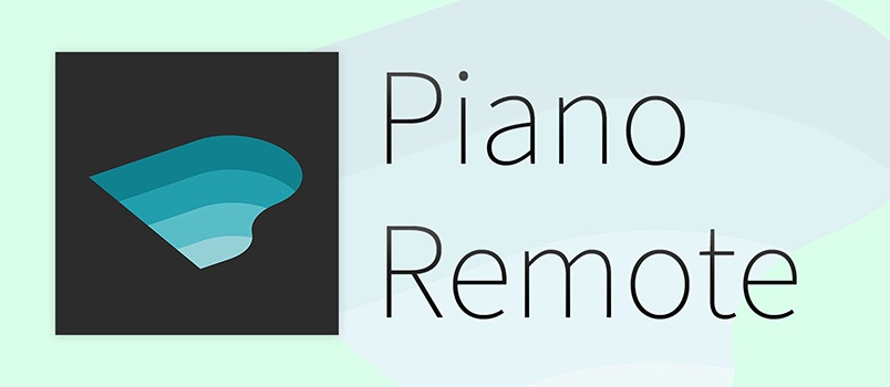 """""""PianoRemote"""" Digitalpiano App till iOS och Android"""