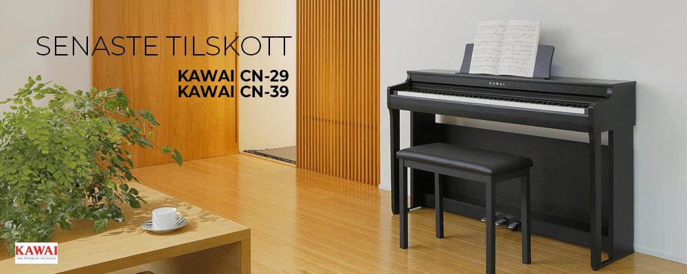 Kawai's senaste tillskott – CN29 och CN39